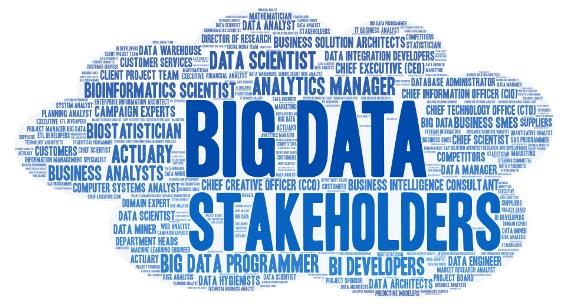 Big Data Stakeholders - list of stakeholders in Data Analytics