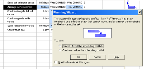 Project Constraints - how to use constraints in ms project