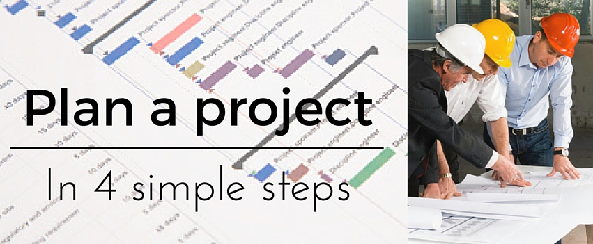 How To Plan A Project  Plan Any Project In Four Simple Steps