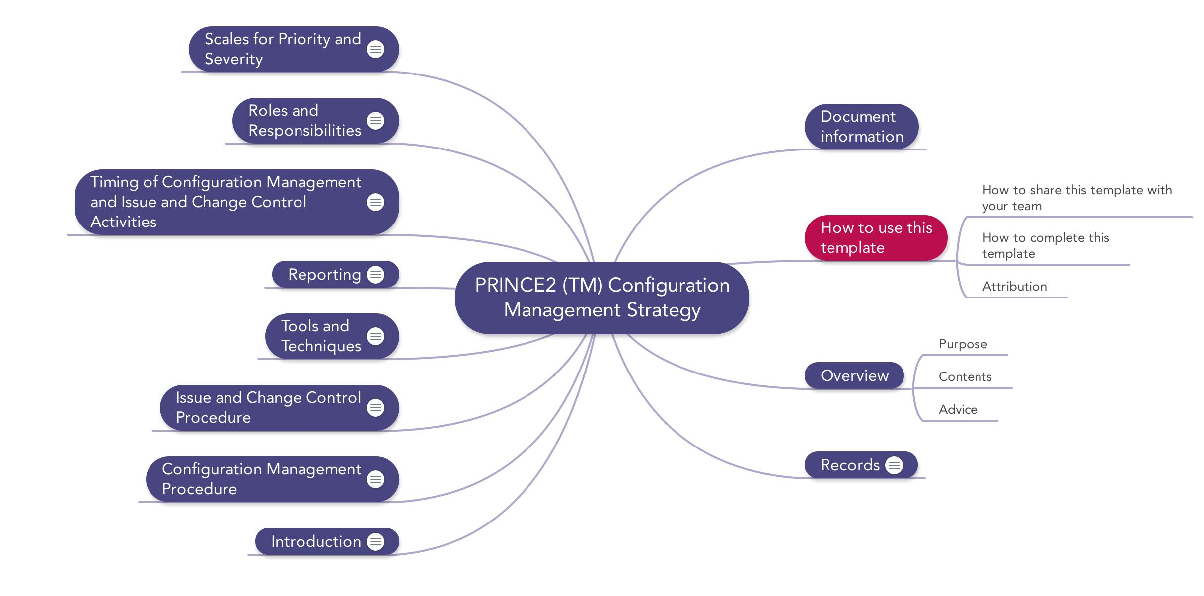 Prince2 Configuration Management Strategy Download template