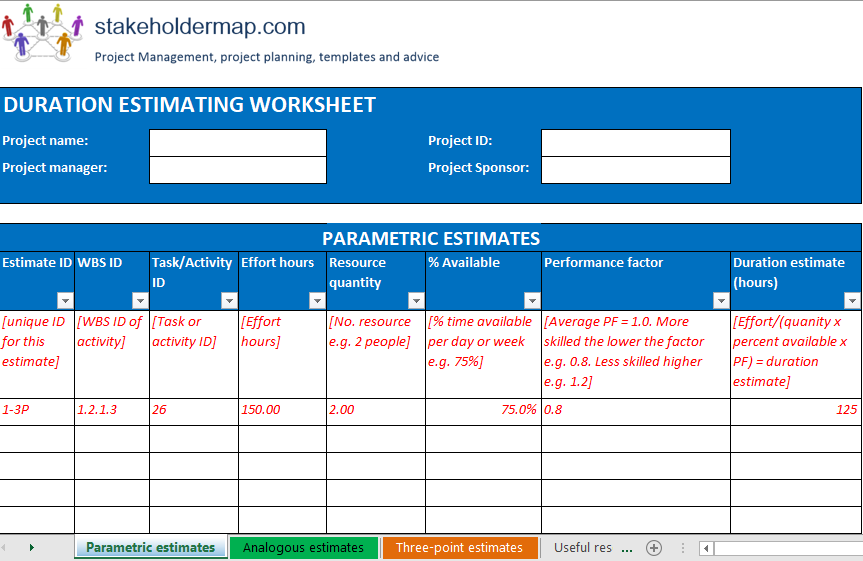 Wbs Excel Template Download from www.stakeholdermap.com