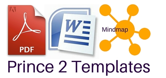 Prince2 templates mind maps word excel and pdf prince2 template in mind map word and pdf wajeb