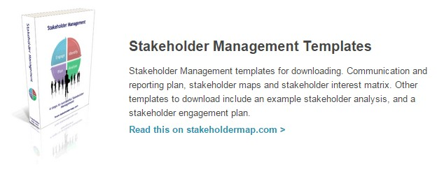 Stakeholder Management Templates