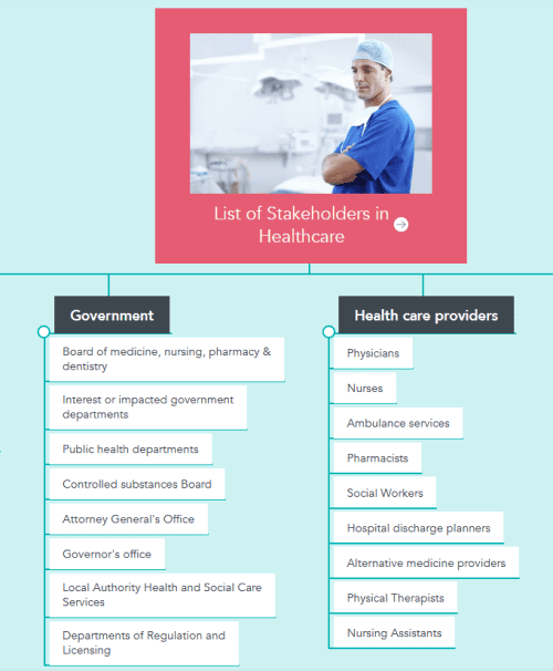 Examples of Stakeholders in Healthcare